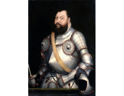 KO II-349 Lucas Cranach - Kurfiřt Johann Friedrich der Grosmütige von Sachsen