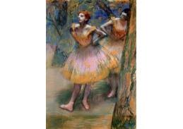 A-161 Edgar Degas - Dvě tanečnice