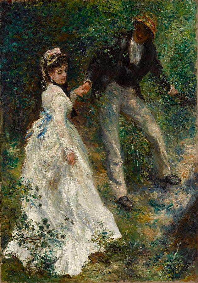 R14-105 Pierre-Auguste Renoir - Procházka