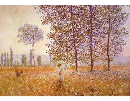 VCM 14 Claude Monet - Topoly ve slunečním svitu