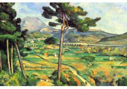 R10-120 Paul Cézanne - Hora Sainte-Victoire