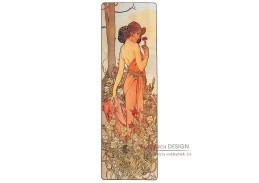VAM111 Alfons Mucha - Carnation