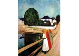 VEM13-101 Edvard Munch - Dívky na mostě