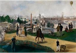 DDSO-2142 Edouard Manet - Z výstavy World v Paříži v roce 1867