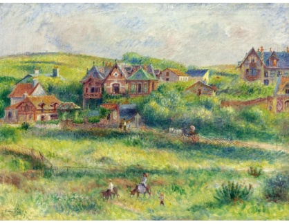 KO III-340 Pierre Auguste Renoir - Domy v Pierson Pourville