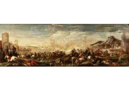 DDSO-2432 Antonio Calza - Bitevní scéna