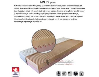 Matrace NELLY PLUS 120x200