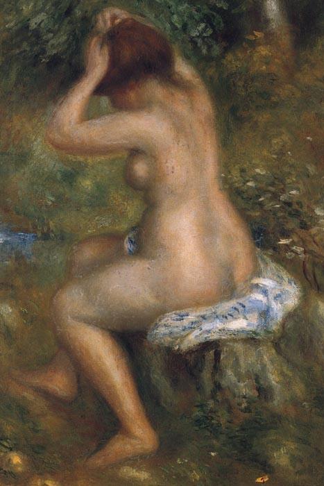 R14-1 Pierre-Auguste Renoir - Koupající se žena
