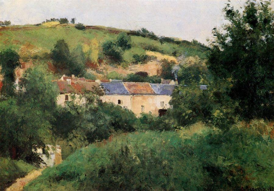 Obraz VCP-435 Camille Pissarro - Cesta vesnicí