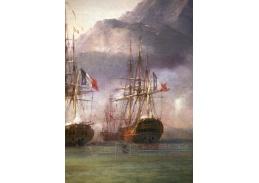 VL108 Pierre-Julien Gilbert - Bitva o Granf Port, detail