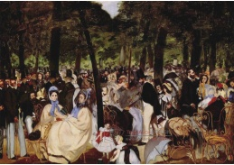 SO V-230 Edouard Manet - Hudba v Tuileries