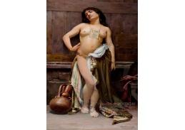 Krásné obrazy V-102 Oscar Pereira da Silva - Římská otrokyně