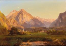 DDSO-3167 Anton Hansch - Alpská krajina