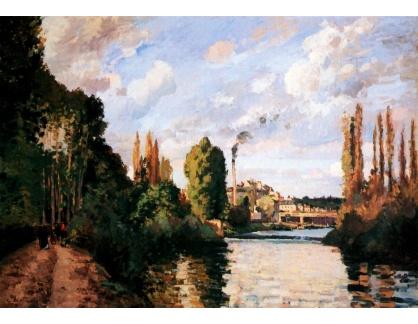 VCP-434 Camille Pissarro - Cesta kolem řeky v Pontoise