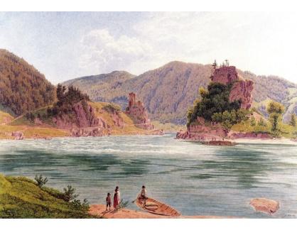VALT 3 Jacob Alt - Pohled na víření Dunaje