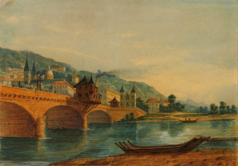 Slavné obrazy XIV-42 Prilidiano Pueyrredon - Krajina