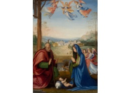 Slavné obrazy XVII-63 Fra Bartolomeo - Narození Páně