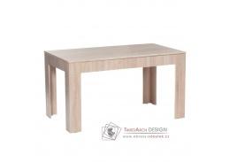 ADMIRAL, jídelní rozkládací stůl, dub sonoma