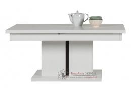 IRMA, konferenční stolek rozkládací IM12 bílá / vysoký lesk bílý