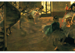 R6-206 Edgar Degas - Zkouška
