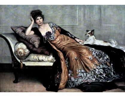 VF188 Henry Caro-Delvaille - Portrét paní Simone