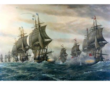 VL14 V. Zveg - Bitva o Chesapeake