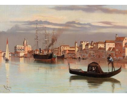 DDSO-1517 Antonietta Brandeis - Motiv z Benátek
