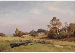 Slavné obrazy VIII-141 Josef Willroider - Letní krajina
