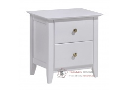 JAVA 03, noční stolek, bílá