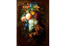 D-9215 Pieter Gallis - Věnec z ovocem ve výklenku