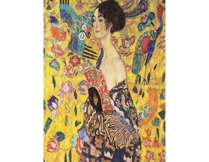 VR3-138 Gustav Klimt - Paní Fächer