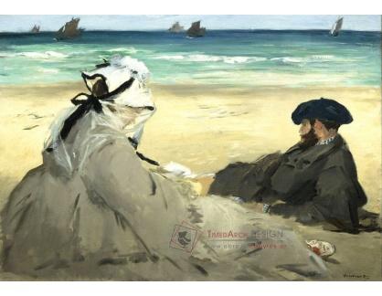 VEM 04 Édouard Manet - Na pláži