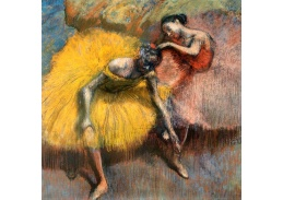 VR6-71 Edgar Degas - Tanečnice ve žlutém a růžovém kostýmu