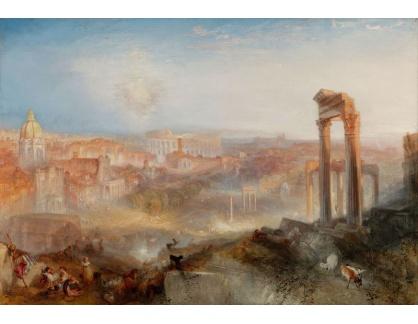Joseph Mallord William Turner - Moderní Řím, Campo Vaccino