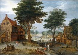 BRG-101 Jan Brueghel - Vesnická krajina se stromy
