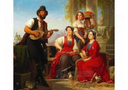 DDSO-2244 August Ferdinand Hopfgarten - Hudební vystoupení