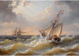 DDSO-1479 Albert de Marees - Bouře na moři