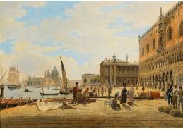 DDSO-3636 Jacob Alt - Riva degli Schiavoni v Benátkách