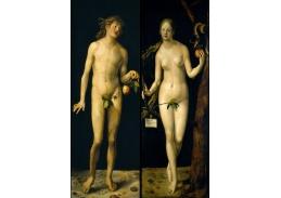 VR12-9 Albrecht Dürer - Adam a Eva