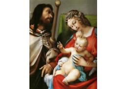 SO IV-22 Lorenzo Lotto - Madonna a svatý Sebastián
