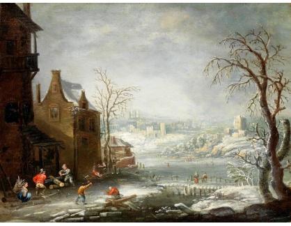 KO III-220 Johann Jakob Hartmann - Zimní krajina