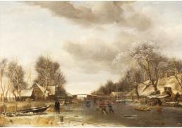 A-731 Jan van de Cappelle - Zimní krajina