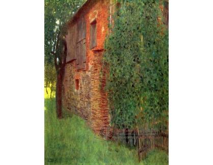 VR3-94 Gustav Klimt - Dům v Kammer na Attersee