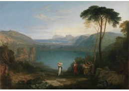Joseph Mallord William Turner - Jezero Avernus