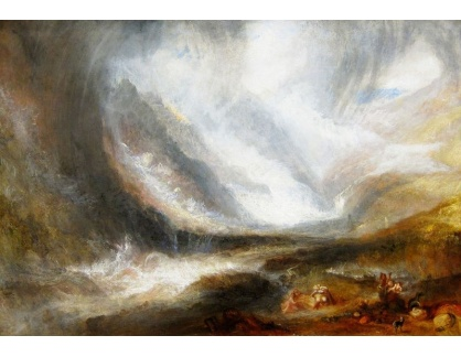 Joseph Mallord William Turner - Sněhová bouře