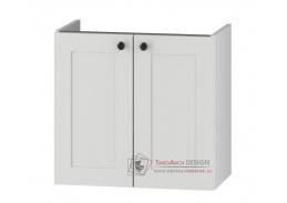 STRADONE, dolní koupelnová skříňka pod umyvadlo DUM VEA 64 S/2, bílá
