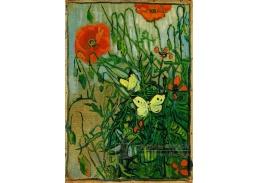 A-1004 Vincent van Gogh - Motýli a vlčí máky