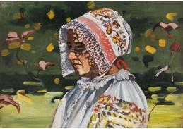 D-8954 Joža Uprka - Dívka v kroji