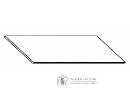 Kuchyňská pracovní deska 260 cm šedý asfalt