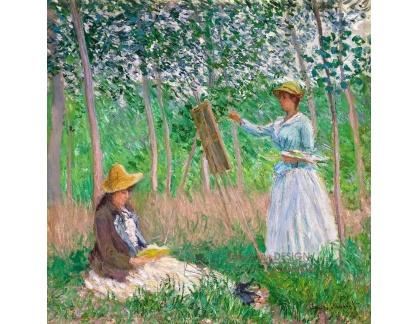 VCM 131 Claude Monet - V lese u Giverny